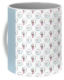 Boo Ghost Pattern Coffee Mug