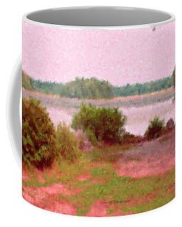 Borderland Pond With Monet's Palette Coffee Mug