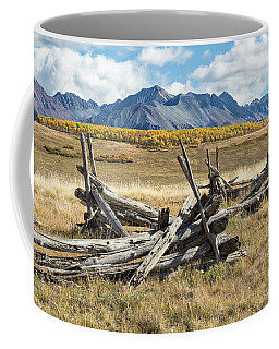 Borderline Remains Coffee Mug