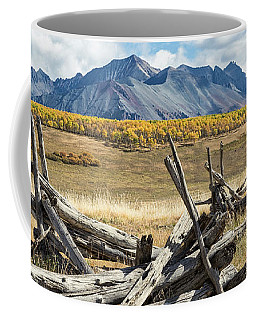 Borderline Remains Coffee Mug