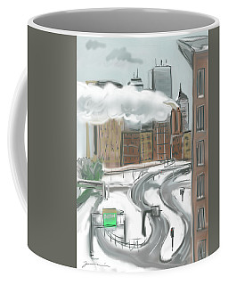 Boston After The Blizzard Coffee Mug