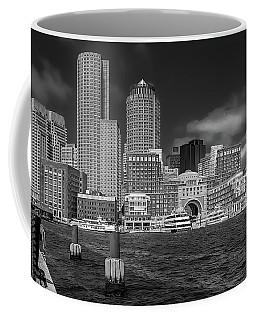 Boston Harbor Skyline Coffee Mug