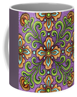 Botanical Mandala 10 Coffee Mug