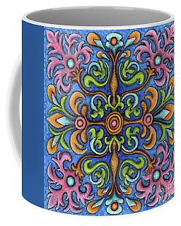 Botanical Mandala 2 Coffee Mug