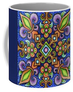 Botanical Mandala 3 Coffee Mug