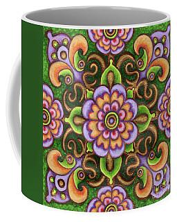 Botanical Mandala 5 Coffee Mug