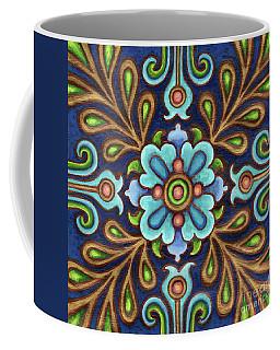 Botanical Mandala 9 Coffee Mug