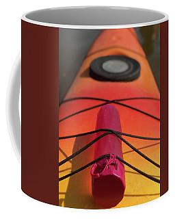 Bottle On A Boat Coffee Mug