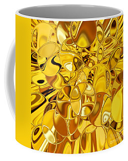 Coffee Mug featuring the digital art Boules D Or by A zakaria Mami