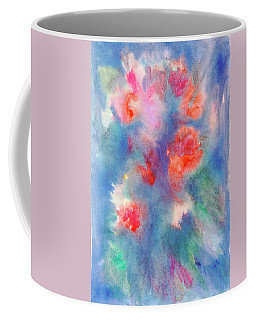 Coffee Mug featuring the painting Bouquet Of Roses by Dobrotsvet Art