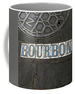 Bourbon Street New Orleans Coffee Mug