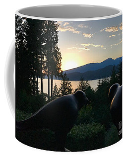 Bowen Island Crows Coffee Mug