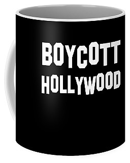 Boycott Hollywood Coffee Mug