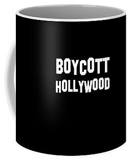Boycott Hollywood Coffee Mug