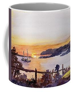 Brakey Bay Sunset Coffee Mug
