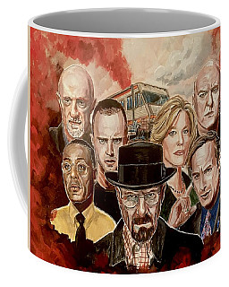 Breaking Bad Family Portrait Coffee Mug