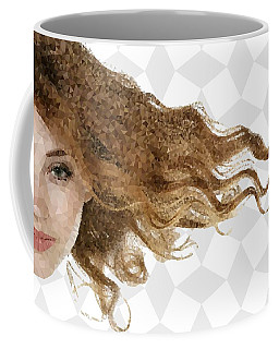 Coffee Mug featuring the mixed media Breeze by Marianna Mills