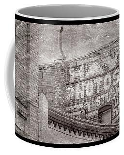 Brick Wall Advert  Coffee Mug