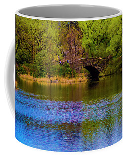 Coffee Mug featuring the photograph Bridge In Central Park by Stuart Manning