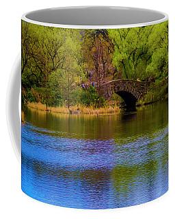 Bridge In Central Park Coffee Mug