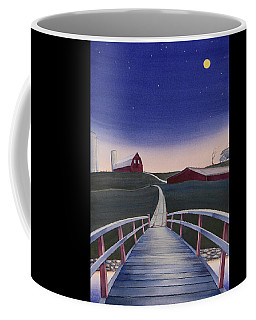 Bridge Over Buck Creek II Coffee Mug