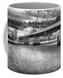 Bridge Over Frozen Waters Coffee Mug