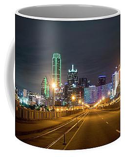 Coffee Mug featuring the photograph Bridge To Dallas by David Morefield