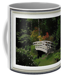 Bridge To The Azalea Gardens Coffee Mug