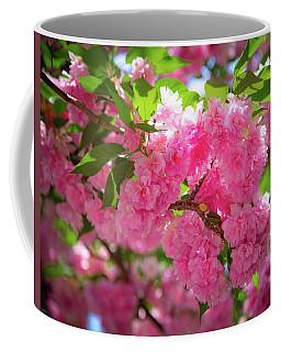 Bright Pink Blossoms Coffee Mug