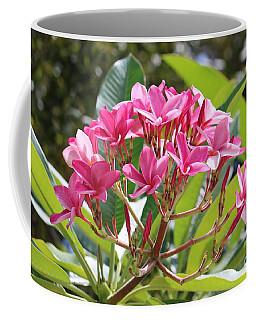 Bright Plumeria Coffee Mug