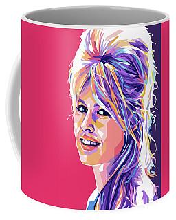 Brigitte Bardot Pop Art Coffee Mug