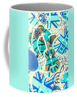 Britain Blues Coffee Mug