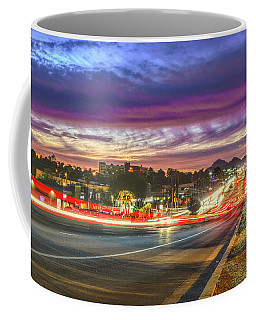 Broadway Sunset, Tucson, Az Coffee Mug