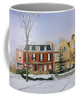 Broom Street Snow Coffee Mug