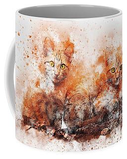 Brothers Cat Coffee Mug