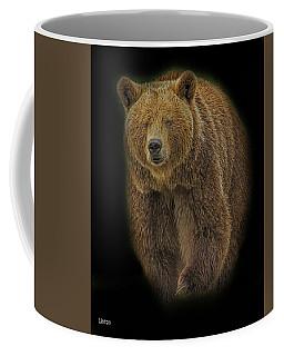 Brown Bear In Darkness Coffee Mug