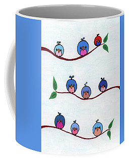 Bubble Birds Coffee Mug