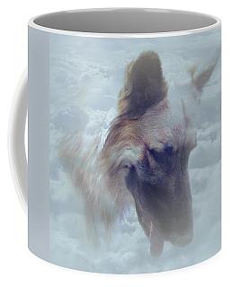 Buce In Clouds Coffee Mug