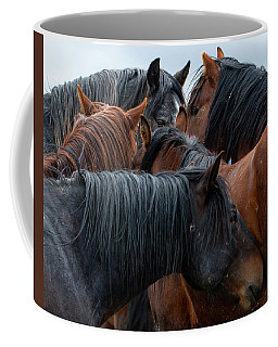 Coffee Mug featuring the photograph Buddies by Mary Hone