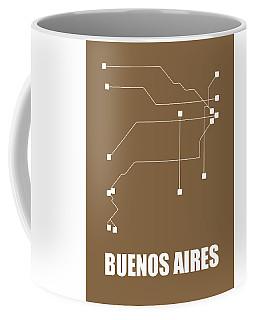 Buenos Aires Subway Map 2 Coffee Mug