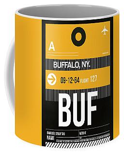Buf Buffalo Luggage Tag II Coffee Mug