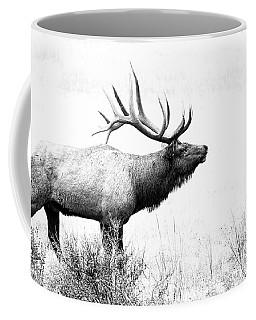 Bull Elk In Rut Coffee Mug