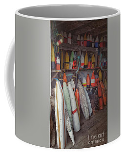 Buoys In A Sea Shack Coffee Mug