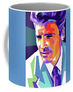 Burt Lancaster Pop Art Coffee Mug