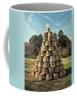 Coffee Mug featuring the photograph Bushel Basket Christmas Tree by Bill Swartwout Fine Art Photography