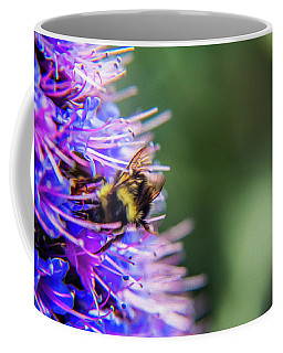 Coffee Mug featuring the photograph Busy Bee 2 by Stuart Manning