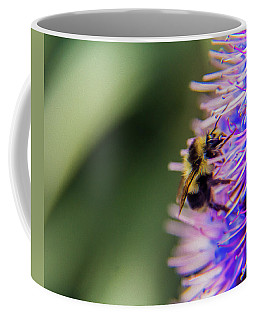 Coffee Mug featuring the photograph Busy Bee by Stuart Manning