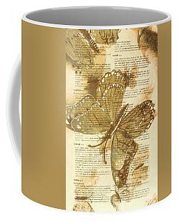 Butterfly Antiquities Coffee Mug