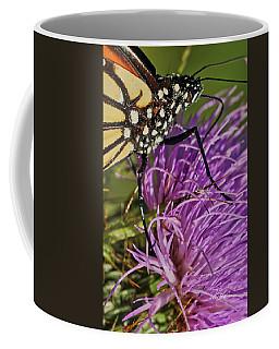 Butterfly Closeup Vertical Coffee Mug