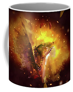 Butterfly Color Explosion. Coffee Mug